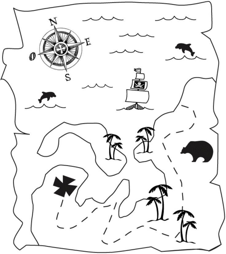 Inviti compleanno pirati - Disegni da colorare - IMAGIXS