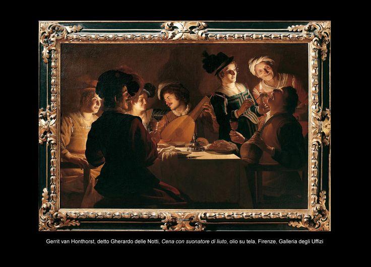 Un anno ad arte 2015 » Gherardo delle Notti – Quadri bizzarrissimi e cene allegre10 febbraio – 24 maggio – Galleria degli Uffizi