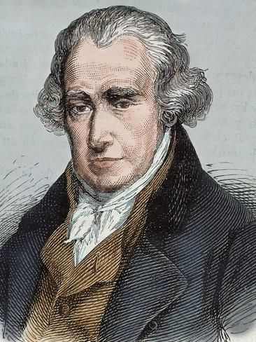 James Watt (Greenok 1736-Heathfield, 1819). Scottish Inventor and Mechanical Engineer Photographic Print