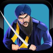 This game is a tribute to some of the greatest Sikh warriors/martyrs (Saint Soldiers) in Sikh History. Collect all the Nanakshahi Sikkas (coins) while shooting down the Mughals.  Collect powerups like:  •Khanda – with the magnetic power of attracting all of the coins •Amrit Batta – with the power of destroying all obstacles •Amrit Flask – with the power of an extra life  Avoid the Mughals and other obstacles as you continue the journey of the Sikh Warrior – Saint Soldier.