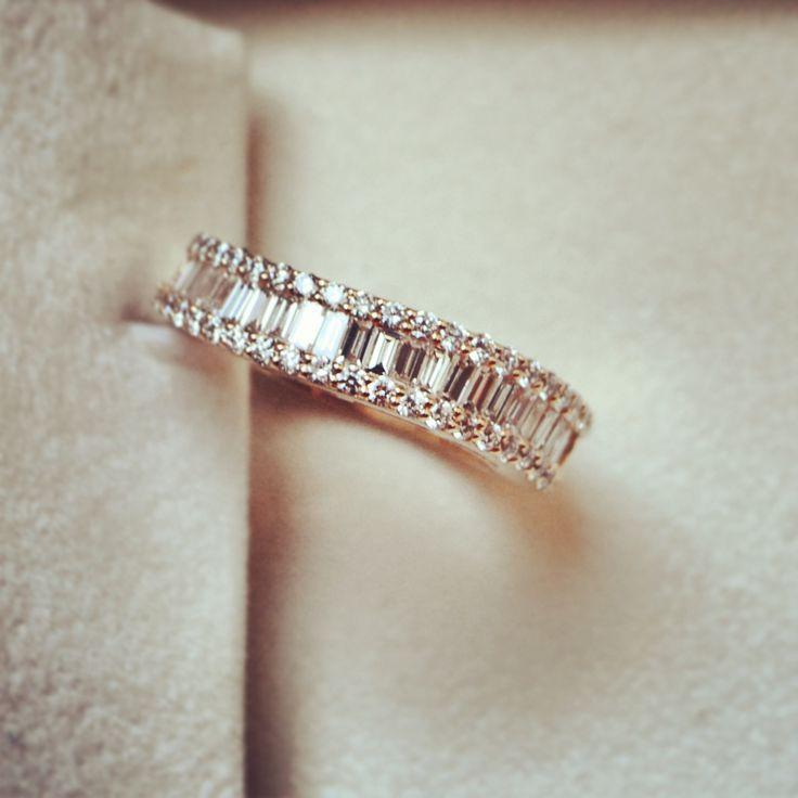 Gorgeous diamond baguette By Hala x