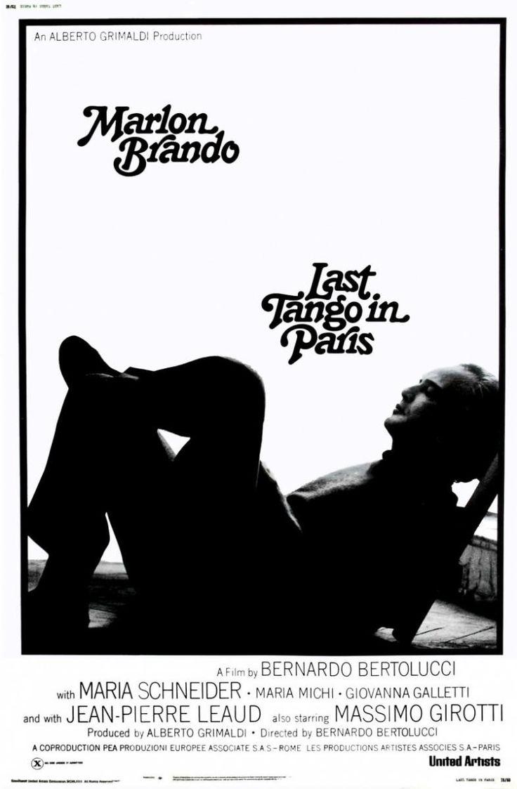 Last Tango In Paris, directed by Bernardo Bertolucci.