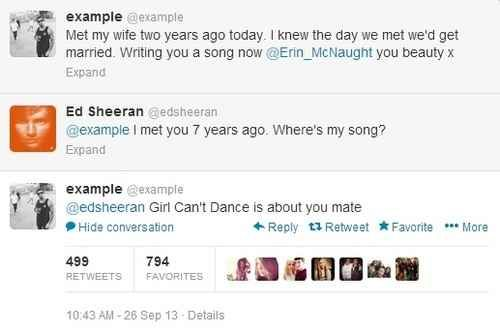 He's besties with Example. | 21 Cute Facts You Really Ought To Know About Ed Sheeran