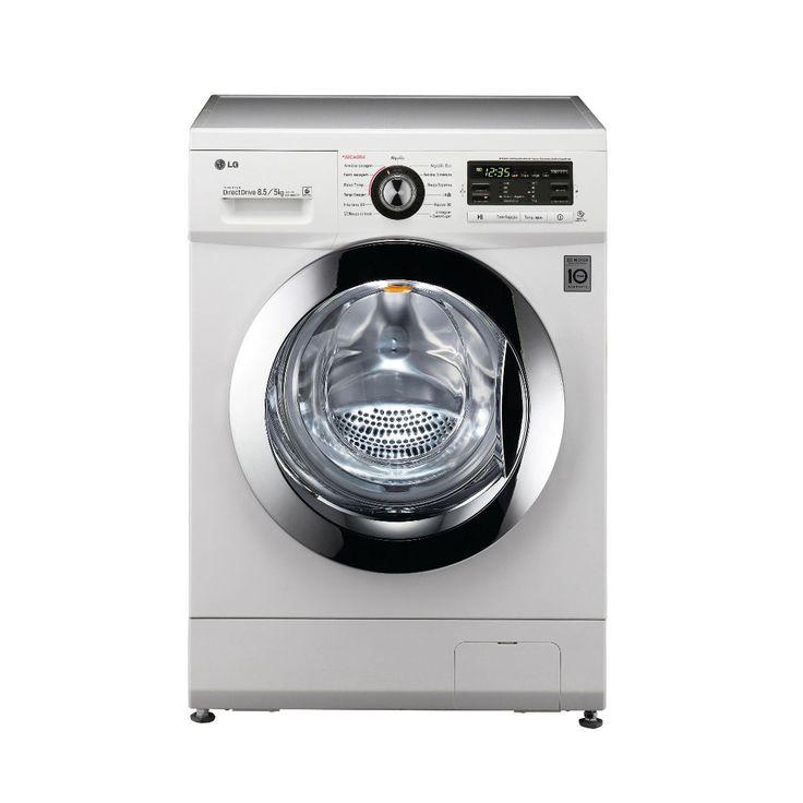 [Carrefour] Lava e Seca LG Mega Touch 8,5Kg Branca 110V - R$ 1.999,00 até 10x de R$ 199,90