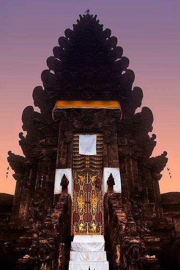 Hindu Temple, Kintamani