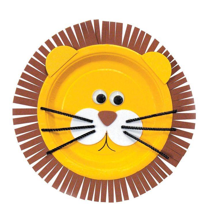 lion plate craft