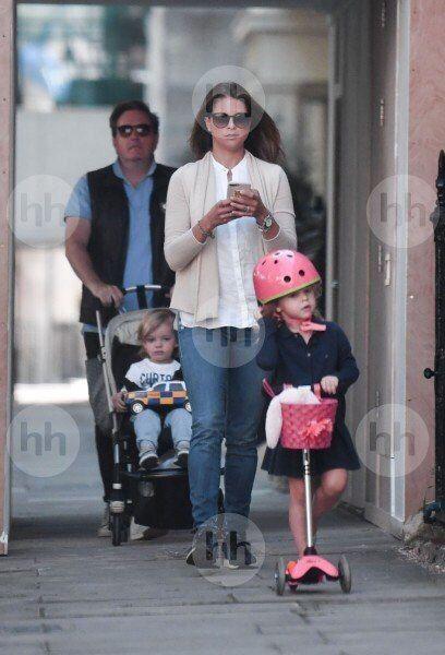 Princess Madeleine of Sweden, Princess Leonor, Prince Nicolas, and Chris O'Neill.
