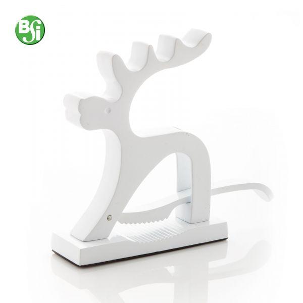 Schiaccianoci in metallo a forma di renna. Disponibile nei colori: Bianco e Rosso  #schiaccianoci #natale #gadget #gift #christmas #gadgetpersonalizzato