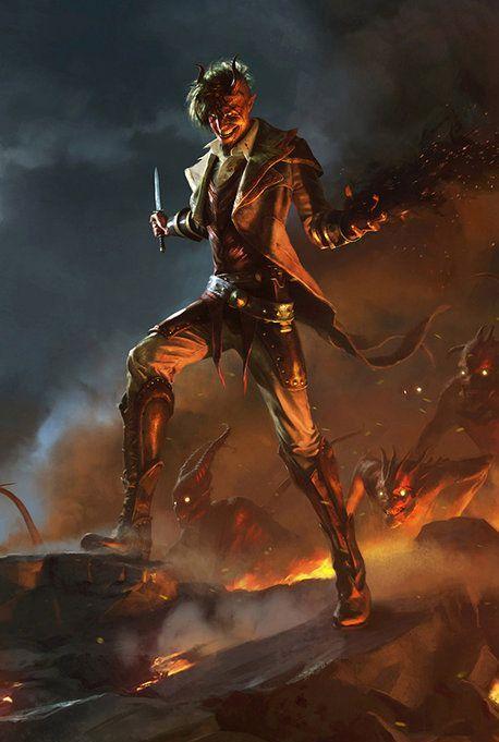 Asmodeus, Deus do Inferno