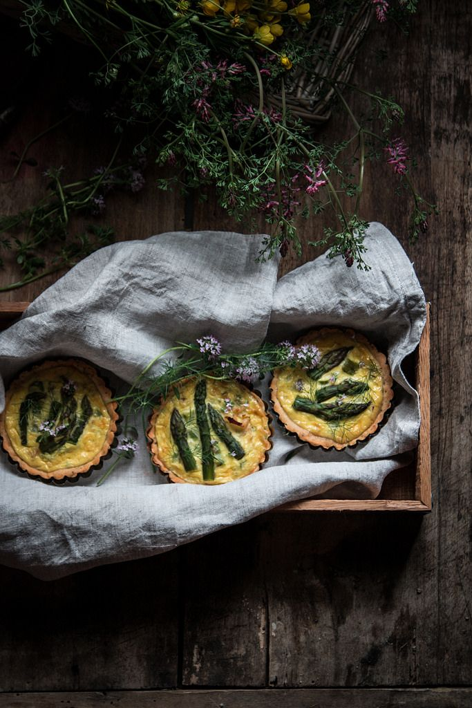 https://flic.kr/p/SNrC2X | quiche con asparagi