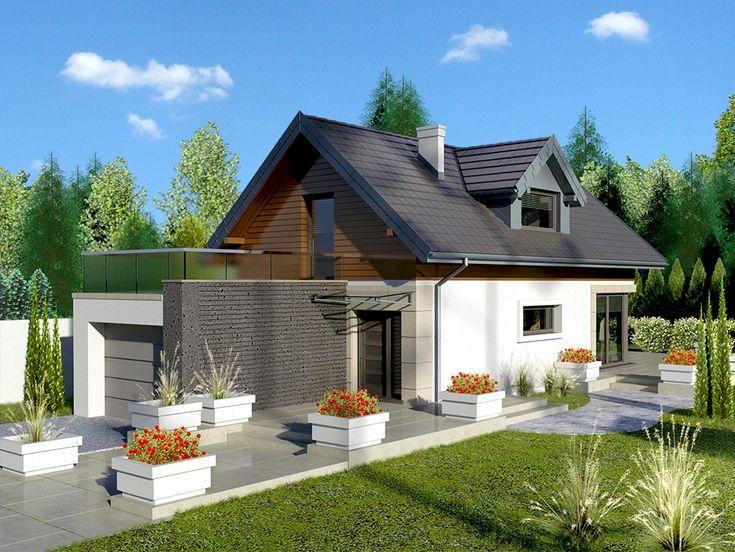 Wizualizacja Dom przy Migdałowej CE
