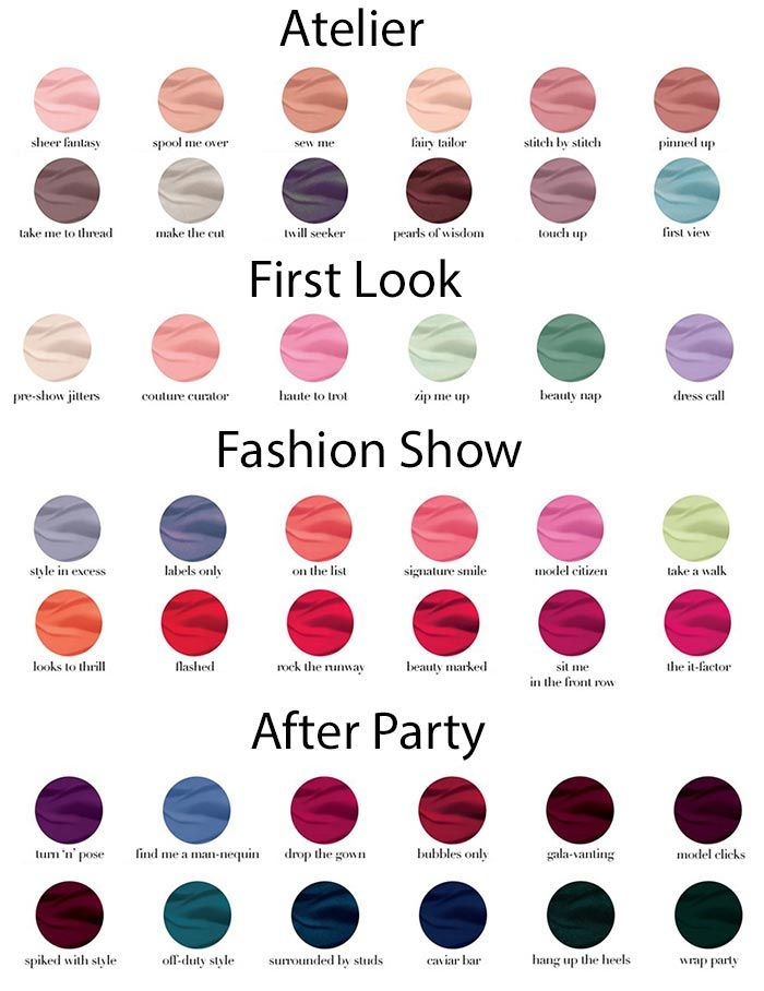 Essie Nail Polish Colors Names | Hession Hairdressing
