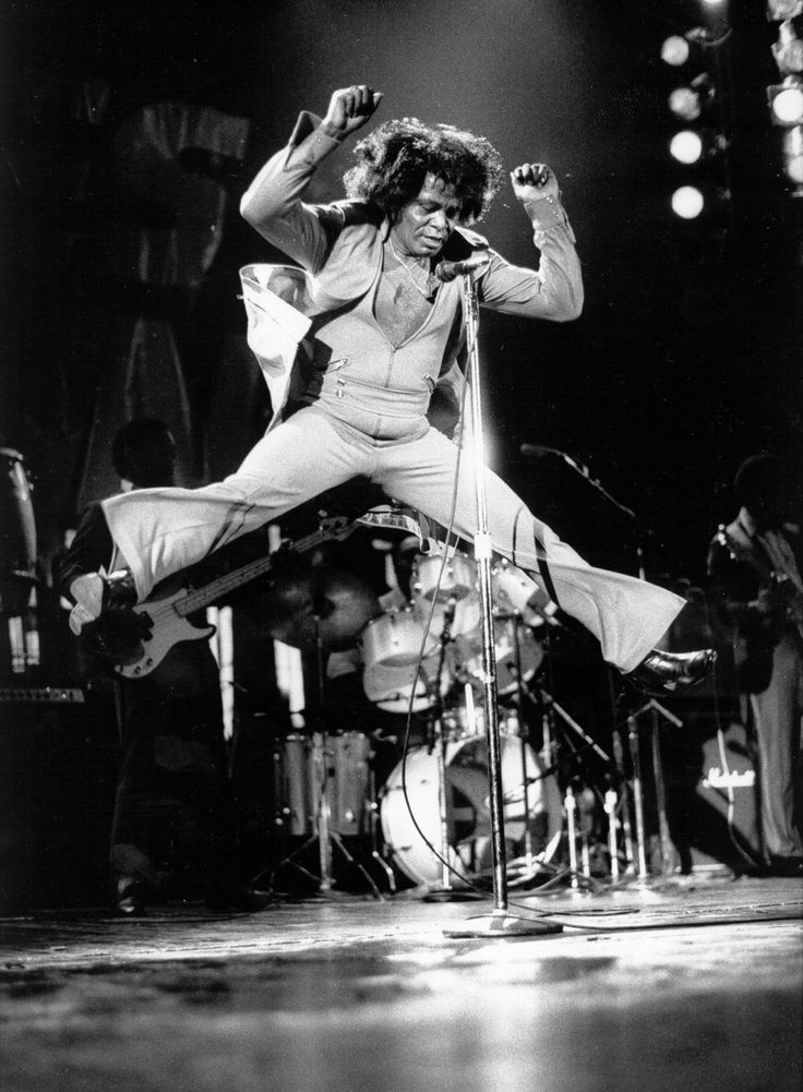 """James Brown (May 3, 1933 – December 25, 2006) was an American singer, songwriter, record producer, dancer and bandleader. The creator of funk music and a major figure of 20th century popular music and dance, he is often referred to as the """"Godfather of Soul"""". In a career that spanned six decades, he influenced the development of several music genres"""