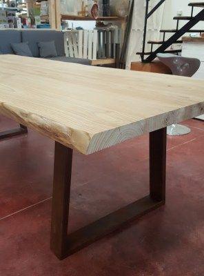 Tavolo da pranzo legno massello cortina 220x100x75