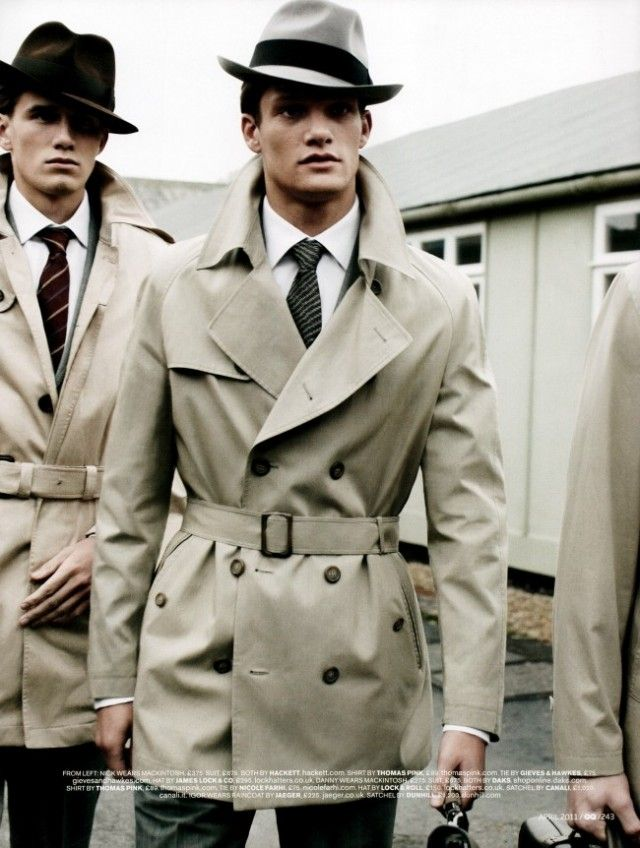 omg i would so wear this. Just to feel like a 1940s detective...