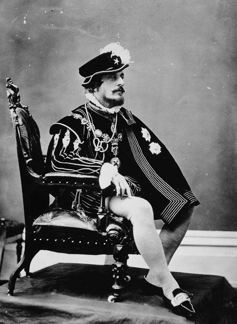 The Marquis of Dufferin, Governor General of Canada, Ottawa, Canada, 1876. Annual costume ball.