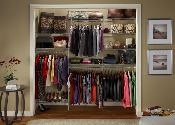 Ever Wonder How Much Wire Shelving You Should Buy For Your Closet? Luckily,  ClosetMaid