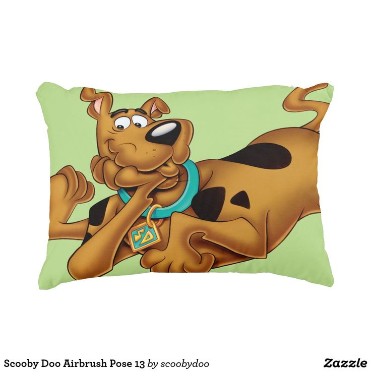 ScoobyDoo Lying Down Decorative Pillow  Pillows  Poufs