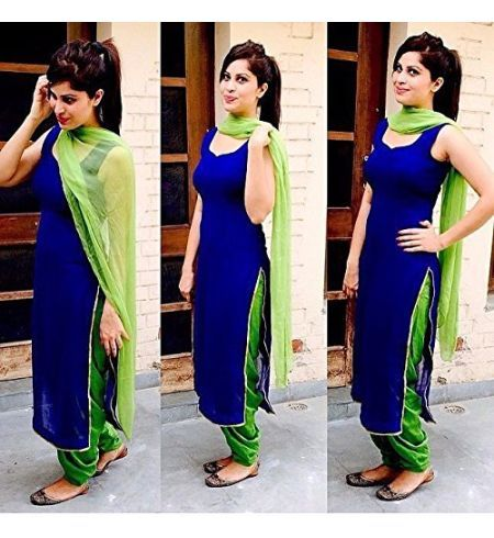 Shop online for Designer Lastest New Blue & Green Cotton Salwar Suit at best price. Buy Designer Lastest New Blue & Green Cotton Salwar Suit and get 60 Discount by Unique Fashion on Kraftly.