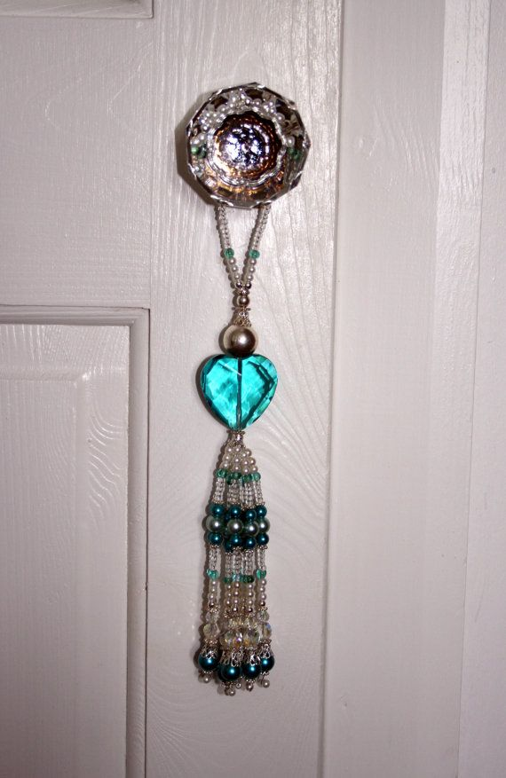 Beautiful Glass Beaded Door Tassel  All Profit To MIND On Etsy, £15.00
