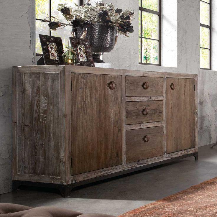 Wohnzimmer Sideboard Im Shabby Chic Style Kiefer Massivholz Jetzt Bestellen Unter