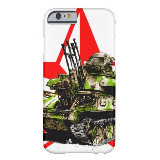 ZSU 23/4 Shilka with Red Star Barely There iPhone 6 Case