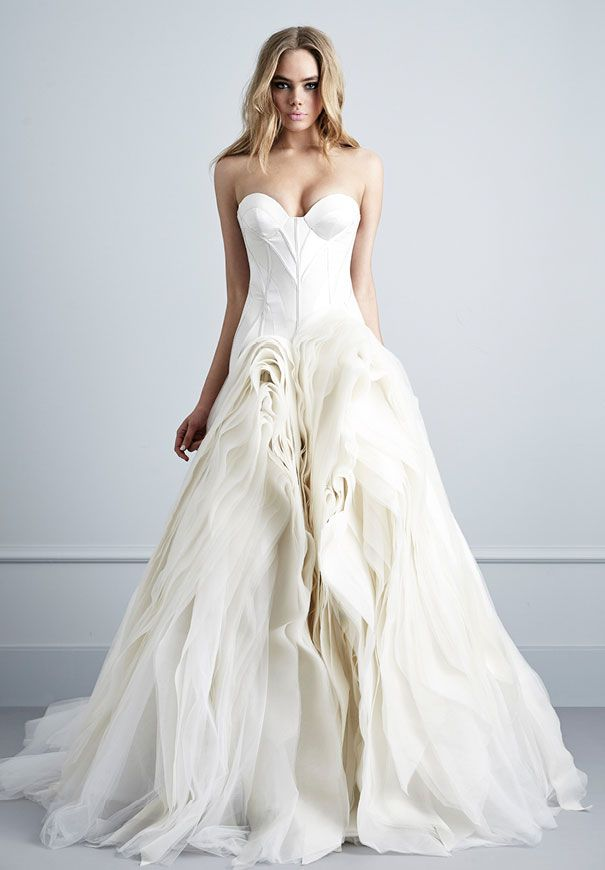 PALLAS COUTURE 2016 COLLECTION // #bride #bridal #wedding #ceremony #reception #designer #pallascouture #gown #dress #photographer #strapless