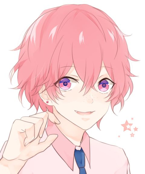 111 Best Pink Haired Anime Boys Images On Pinterest