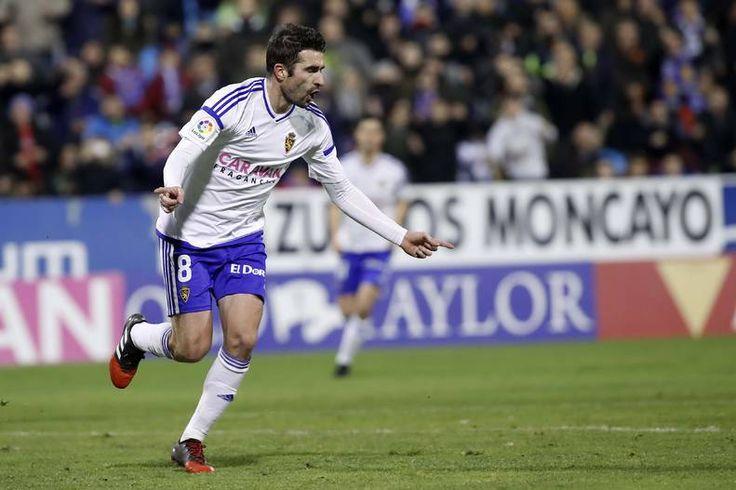 Partido de fútbol de este domingo entre el Real Zaragoza y el Lugo.