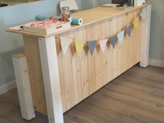 M s de 25 ideas incre bles sobre mostrador de madera solo - Mostradores de bar ...