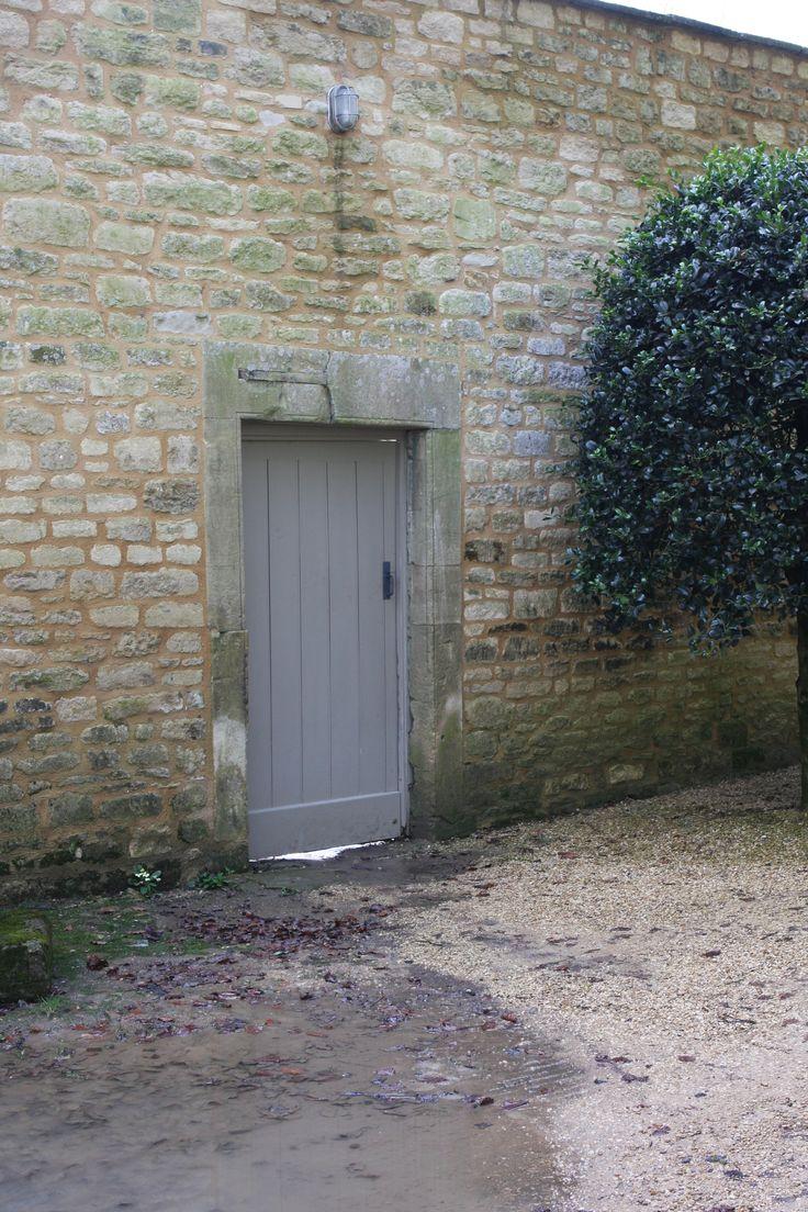Old door, new way.