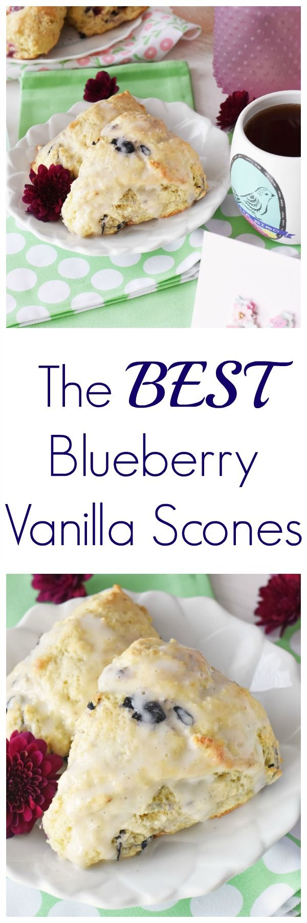Blueberry Scones Recipe & What Mother's Day Means to Me. Get a delicious blueberry scones recipe and check out some of this year's gorgeous Hallmark cards at Walgreens. #HallmarkAtWalgreens #AD via @Savvy Saving Couple @hallmark @walgreens