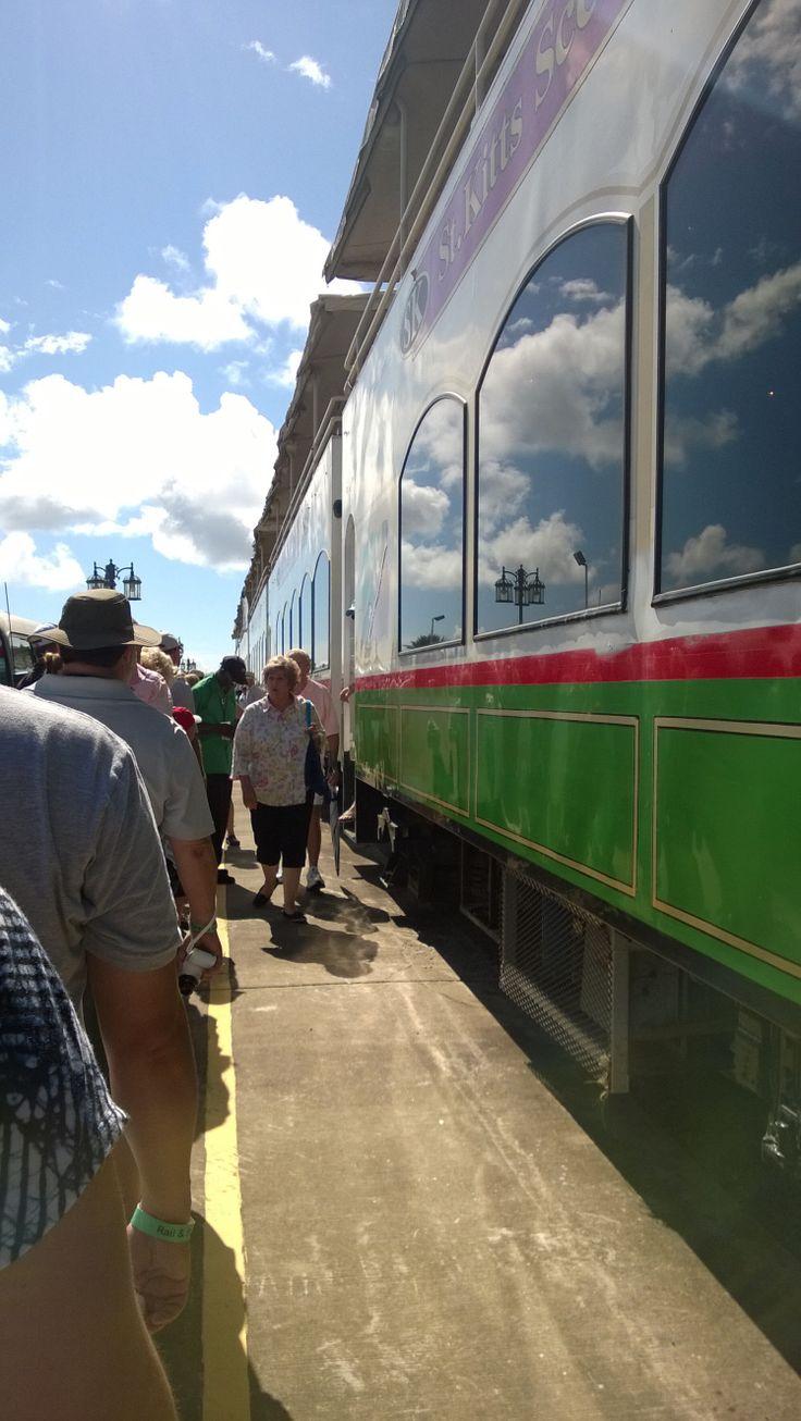 St. Kitts by Train & Catamaran