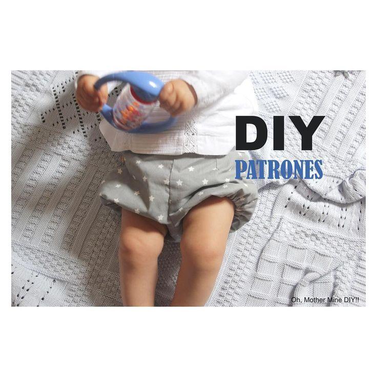 """255 Me gusta, 7 comentarios - Oh, Mother Mine DIY!! (@ohmotherminediy) en Instagram: """"NUEVO POST EN EL BLOG!!!! DIY Costura y patrones: pantalones de bebé www.ohmotherminediy.com #diy…"""""""