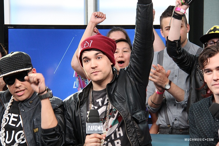 Cam Hunter (Down With Webster) on NML 2013