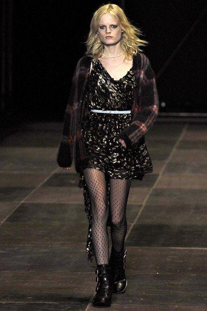 Saint Laurent (by HEDI SLIMANE) - www.vogue.co.uk/fashion/autumn-winter-2013/ready-to-wear/saint-laurent/full-length-photos/gallery/950331