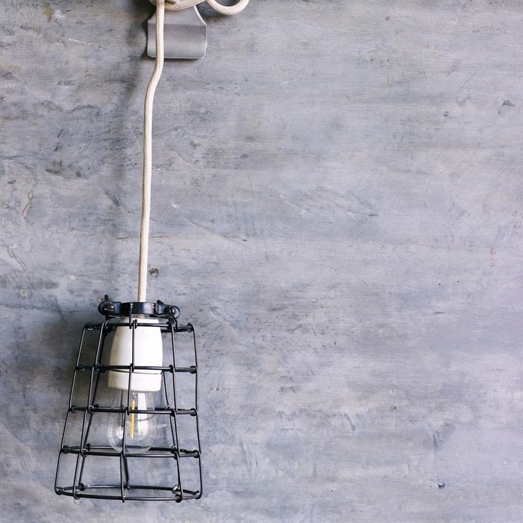Foundry Cage Light | The Society inc. by Sibella Court