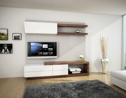 25 best ideas about muebles para televisores on pinterest - Muebles modernos para tv ...