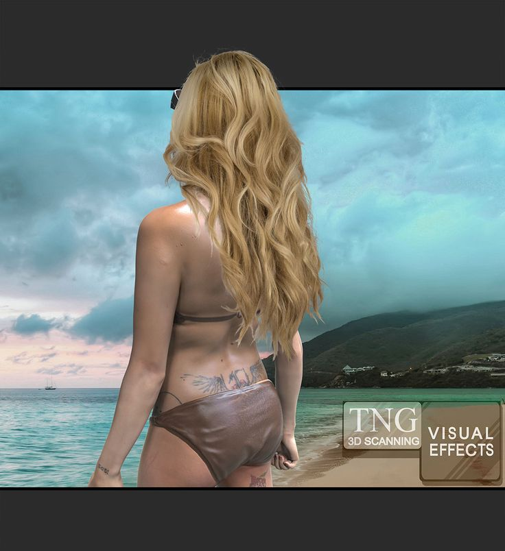 3D Scanning of human bodies, zombie to beach beauties. We have done them all at TNG Visual Effects.