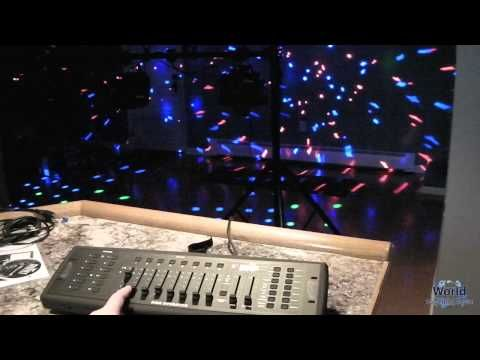 Setting Up DMX Lighting - YouTube