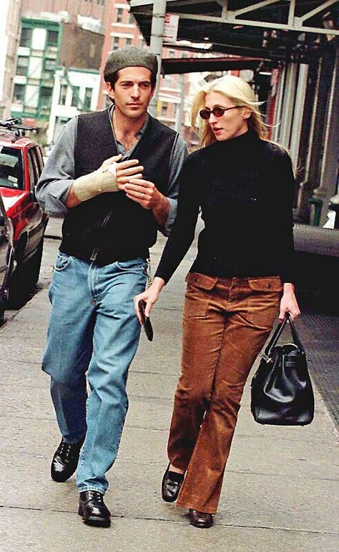 Always, Erin: Style Icons: John F. Kennedy Jr and Carolyn Bessette-Kennedy