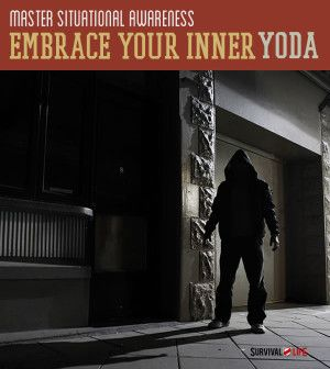 Situational Awareness   Embracing Your Inner Yoda   Survival Prepping Ideas, Survival Gear, Skills & Preparedness Tips - Survival Life Blog: survivallife.com #survivallife