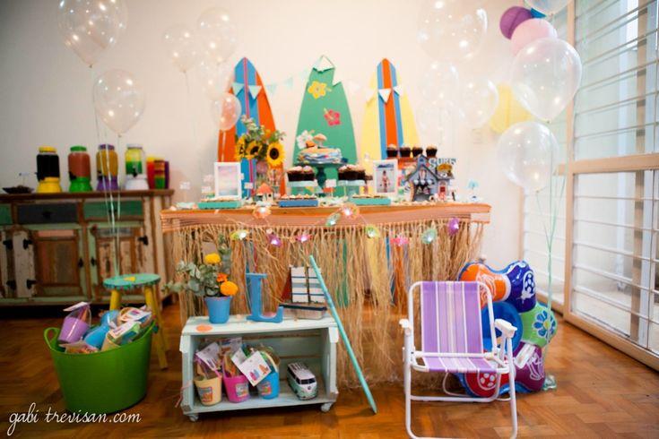 Festa De Brincar - as festas de brincar (:. Festa tema praia