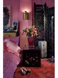 Betsy Johnson's penthouse -pink!