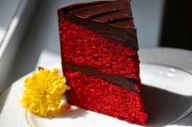 High altitude red velvet cake recipe - works as is at 8700 ft! Vinegar should be reduced, a little overwhelming.