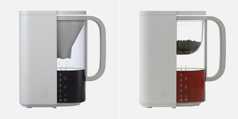 How To Organize Your Home Office Muji Coffee Maker