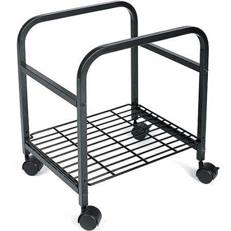 Cropper Hopper Heavy Duty Rolling Cart, Black 17.375X14.375X20