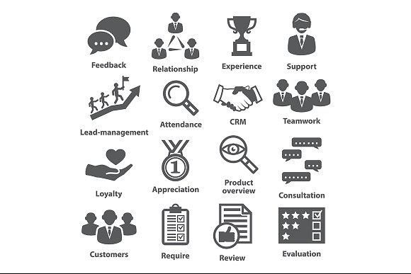 Business Management Icons Pack 03 Business Icons Design Business Management Business Icon