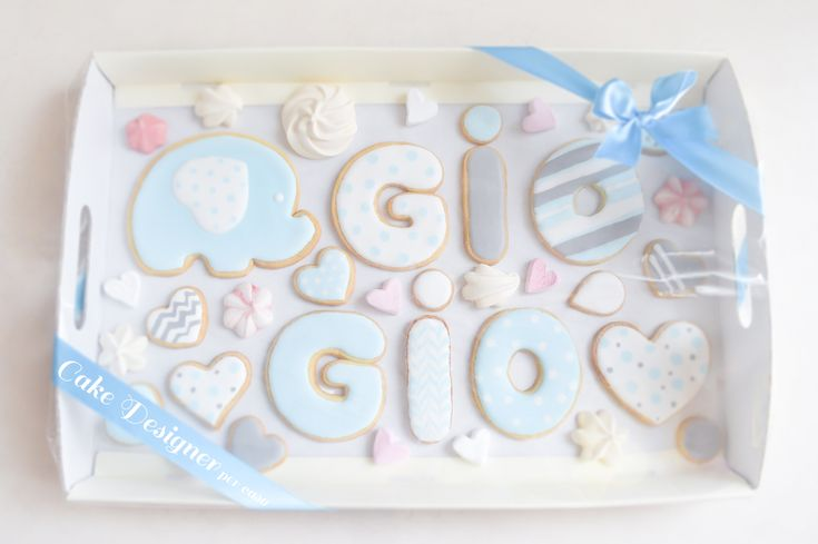 [Cake Designer per caso [Cookies Gift Box]