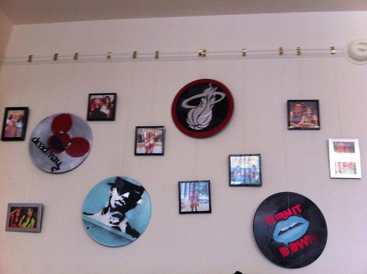 Vinyl Record Wall Art Ideas